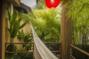 Pousada das Palmeiras Lagoa da Conceicao Florianopolis Suite bambu vista exterior