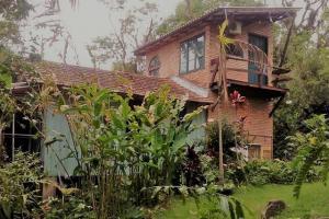 pousada das palmeiras florianopolis bangalo rustico vista exterior